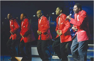 The Temptations live in Branson